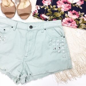 Pants - Urban Outfitters BDG High Rise Dree Cheeky Shorts